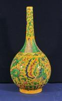 Antik kínai színesen festett váza, Chenghua
