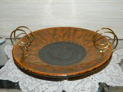 Retro ceramic centerpiece, serving
