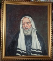 George Szennik: rabbi portrait