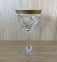 Moser Lady Hamilton aranyozott boros pohár készlet (6db)