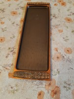 Beautiful old copper craftsman tray