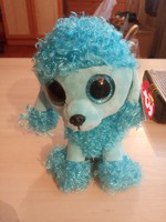 Beanie boosty cute plush poodle puppy 17cm .New with label