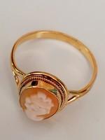 Káma ezüst gyűrű