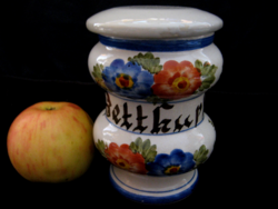 Betthupferl evening tale with delicacy, candy holder jar, holder, bonbonier