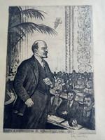 Ék Sándor: Lenin a Komintern III. kongresszusán