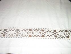 Wonderful lacy antique sheet