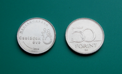 2018 - Year of Families - commemorative version of the 50 forint circulation coin