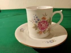 Hollóházi dawn porcelain cup + saucer