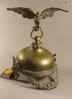 Bronz turulmadaras, ördögfejes asztali dísz vagy valami 538