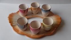 Retro craftsman ceramic drink set