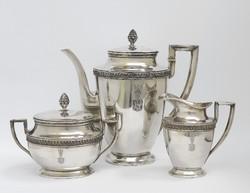 Lengyel ezüst kávésgarnitúra