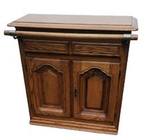 Classic oak bar counter