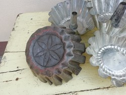 Retro, régi kuglóf, sütőforma