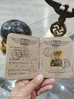 Ww2. 2. World War II German Nazi ss ID card