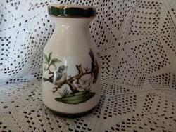Porcelán madárkás váza