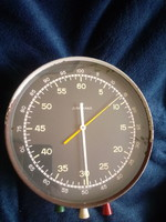 Junghans huge wall chronograph, stopwatch clock