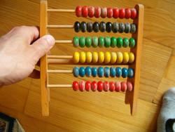 Korai fa tologatós számológép retró szocreál trafik áru gyerek 80 as 90 es évek lehet