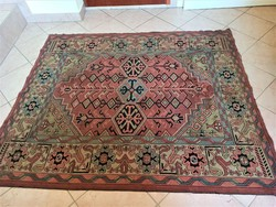 Caucasian patterned woven tapestry