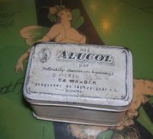 Alucol medicine metal box
