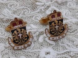 Wien cufflinks pair