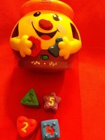 Old fisher price toy with luminous battery in pictures in nice condition
