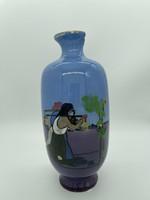 Ultra rare fischer brandy béla decor vase