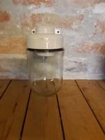 Old barn lamp