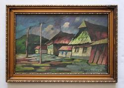 Nagy Oszkár's painting