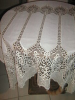 Fabulous special vintage style lacy luxury panoramic curtain