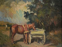 Aaron the Great Louis (1913-1987) - resting horse