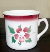 Kispest granite large mug with milk and sour cream.
