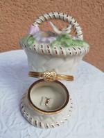 Lenox porcelain jewelry holder