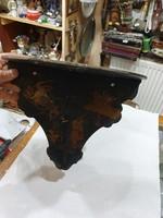Oriental wooden shelf