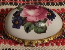 Limoges Franciaország Virágos tojás