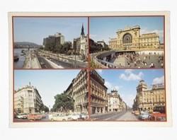 Budapest post card 1989