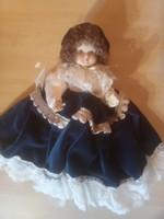 Capodimonten porcelain doll.25 Cm high