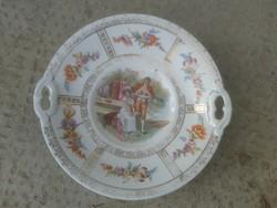 Antik altwien porcelán tál