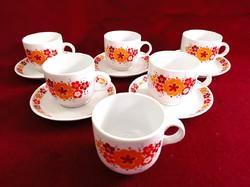 Great Plain porcelain canteen patterned mocha coffee set