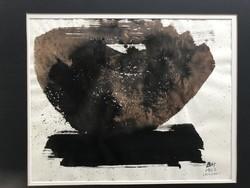 Miklós Borsos: vulcano 1962