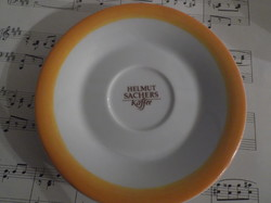 Porcelain - bohemia - helmut sachers - 14 cm - saucer - flawless - novel