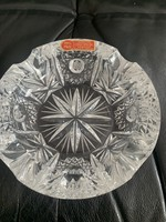 Lead crystal ashtray