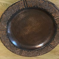 Bronze Plate circa 1980 Hungarian