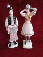Hollow house porcelain matyo couple