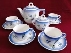 Régi Kispesti Gránit teás/kávés készlet