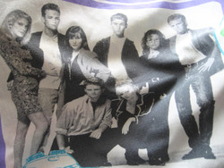 Retro beverly hills 90210 quilt cover