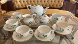 Herendi porcelán teáskészlet