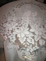 Wonderful special vintage colorful floral swallow bow curtain