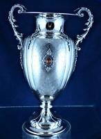 Breathtaking antique silver vase, Milan, ca. 1930 !!!