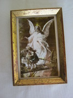 Old angelic mural image holy image