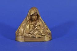 Franz Gruber (1878-1945) Madonna with Child